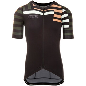 Bioracer Spitfire Maillot manches courtes Homme, brown-mountain zebra